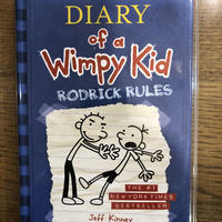 "No.2 Diary of a Wimpy Kid  Book 2  ""Rodrick rules""  ハードカバー 高級保存版"