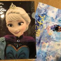 ディズニー アナと雪の女王 ミニクリアファイル 2枚セット