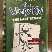 "No.1  Diary of a Wimpy Kid  Book3 ""The Last Straw"" ハードカバー 高級保存版"