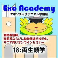 エキゾ学園:エキゾチックアニマル学講座:18 両生類学