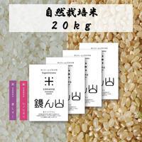 自然栽培米 20kg(5kg×4袋)