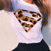 ヒョウ柄スーパーマン Tシャツ