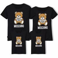 【数量限定】4colour親子ペア クマさん デザインTシャツ