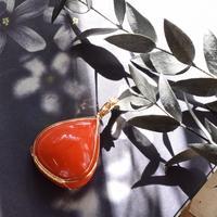 ビタミンオレンジのアンダラクリスタル★ペンダント