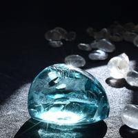 アンダラクリスタルのお守り石★シリウスブルー