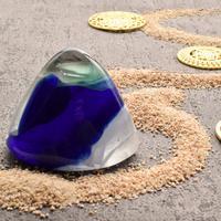 トリプルカラーのアンダラクリスタル(シエラネバダ産)お守り石