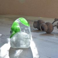 バイカラーのアンダラクリスタル(シエラネバダ産)お守り石