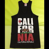 【NEW!!】【KIDS】 CALIFORNIAロゴ マッチョタンクトップ
