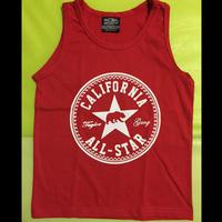 【NEW!!】【KIDS】 CALIFORNIA ALL-STAR ロゴ タンクトップ