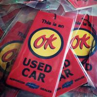 【CHEVROLET】 USED CAR 【OK】マーク エアフレッシュナー