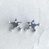 Star  pierce/earring (silver)