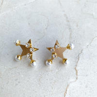Star  pierce/earring (gold)