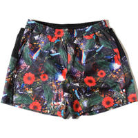 Glossy Buggy Shorts(Black) E2100627