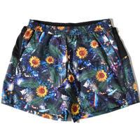 Glossy Buggy Shorts(Navy) E2100627