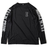 Pride Raglan Long T(Black)