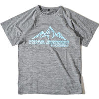 Trail Runner Raglan T(Gray)