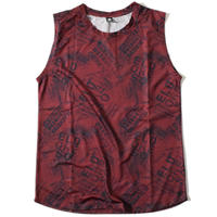 Euphoria Sleeveless T(Burgundy)
