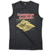 Doppelganger Sleeveless T(Black) E1203620