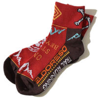 Bone Sox(Burgundy)