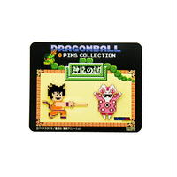 ドラゴンボール 神龍の謎/ピンズセットB (悟空(如意棒)&兎人参化)