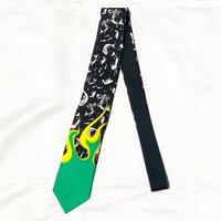 PRADA 18AW Fire pattern tie