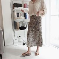レオパードロングスカート