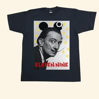 Eleven Nine / Tシャツ/ Dalí 9 /ブラック