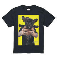 Eleven Nine / Tシャツ/Pug yellow/ブラック