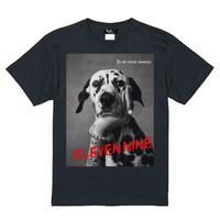 Eleven Nine / Tシャツ/ Dalmatian/ブラック