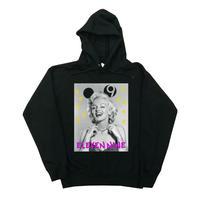 Eleven Nine / パーカー/Marilyn Monroe 9/ブラック  PL