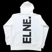 Eleven Nine / パーカー/ Rogo /Bakku purinto  /ホワイト
