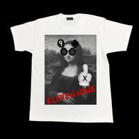 Eleven Nine / Tシャツ/  fuck  / モナリザ  / ホワイト