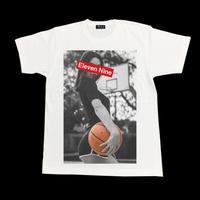 Eleven Nine / Tシャツ/  girl  basketball BoxRogo  /ホワイト
