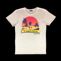 Eleven Nine / Tシャツ/Flamingo /オートミール