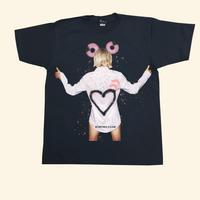 Eleven Nine / Tシャツ/donut girl  /ブラック