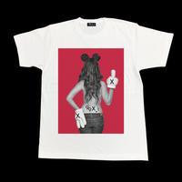 Eleven Nine / Tシャツ/ fuck /glove /ホワイト