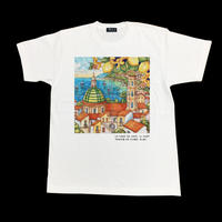 Eleven Nine / Tシャツ/ Townscape/ホワイト