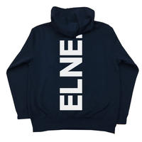Eleven Nine / パーカー/ Rogo /Bakku purinto /white/ブラック
