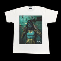 Eleven Nine / Tシャツ/ mask/ホワイト