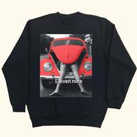 Eleven Nine / トレーナー/ Car  red /ブラック