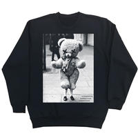 Eleven Nine / トレーナー/ Teddy bear/ブラック