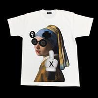 Eleven Nine / Tシャツ/  fuck  / フェルメール  / ホワイト