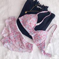 Soft fit bra&panty set (raspberry)
