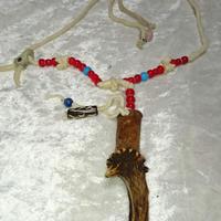 鹿角のネックレス