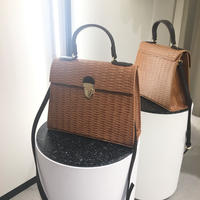 Brown カゴバッグ