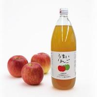 【別送便】EM栽培 りんご100%ストレートジュース1L×12本
