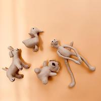 handmade linen stuffed animals