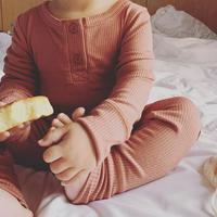 kids  silky  rib  long  set - separate-