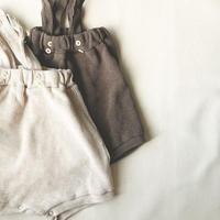 waffle high waist pants