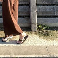 summer vacation // mom wide pants 【再入荷】※一部予約